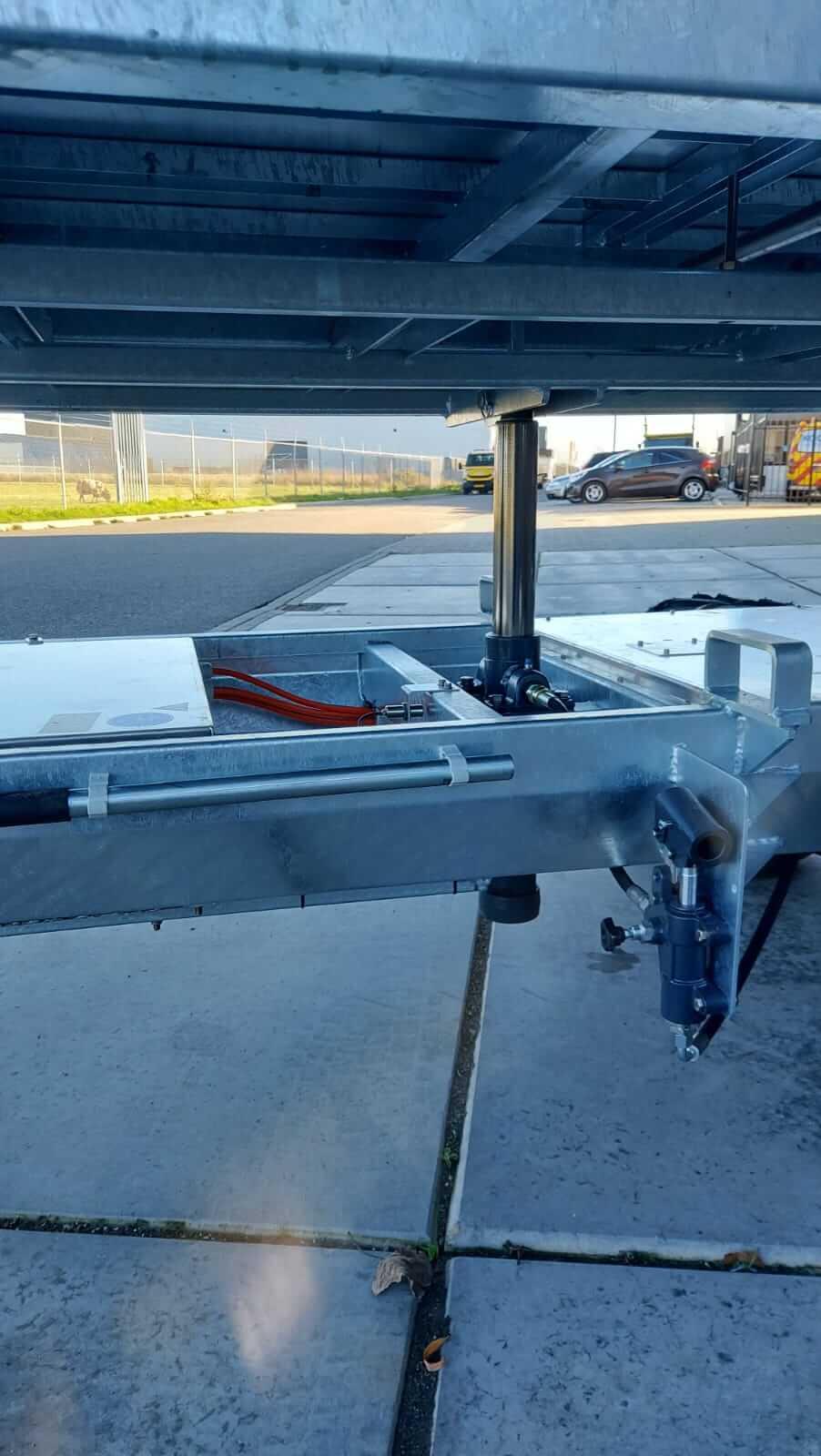 Handbediende hydrauliekpomp